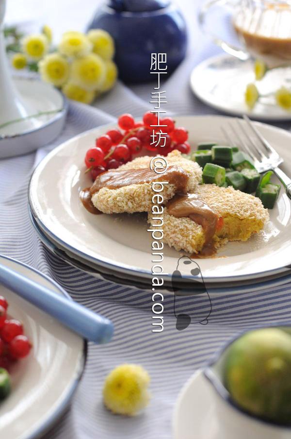 免炸地瓜可樂餅【外酥內綿 】Sweet Potato Korokke
