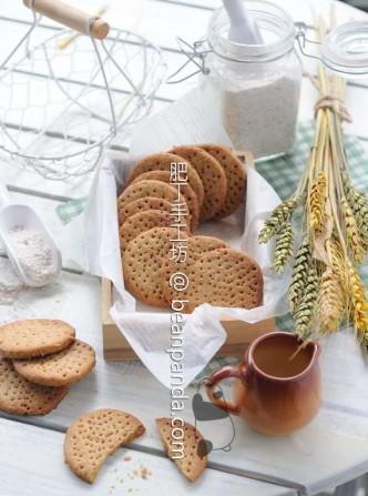 消化餅【粗纖維零食/無泡打粉】Digestive Biscuit