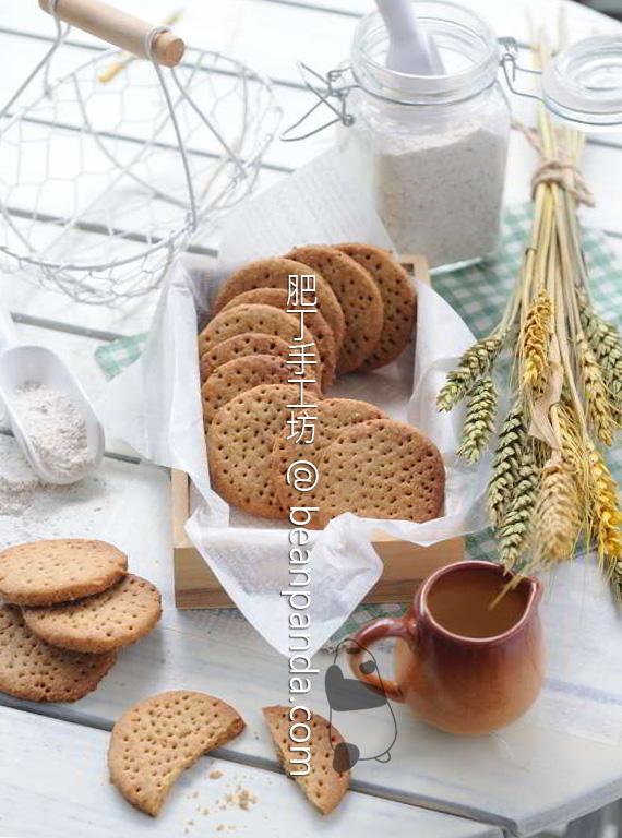 消化餅【粗纖維零食/沒有泡打粉】Digestive Biscuit Recipe
