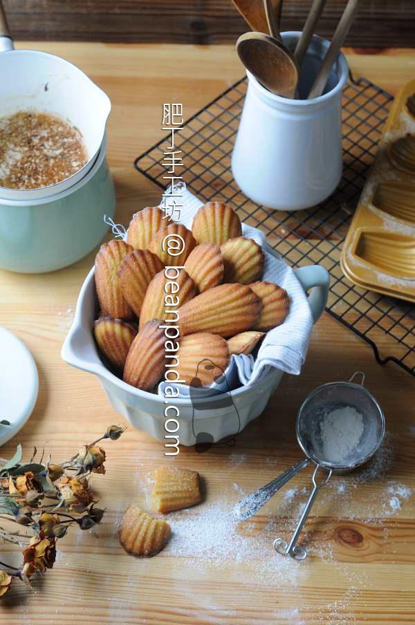 焦化奶油貝殼小蛋糕【瑪德蓮/無泡打粉】Brown Butter Madeleines