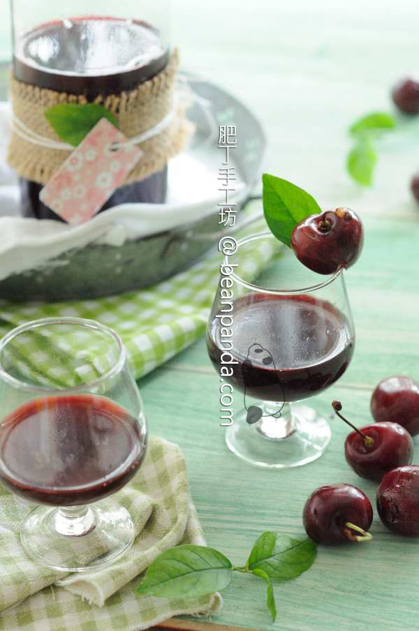 自釀櫻桃酒【純果釀】Homemade Cherry Wine