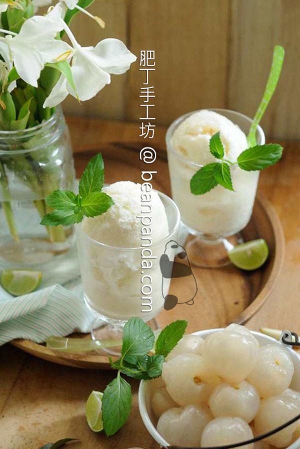 荔枝義式冰淇淋【誘人口慾】Lychee Gelato