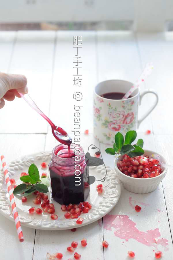 自製石榴糖漿【天然果糖】Pomegranate Molasses