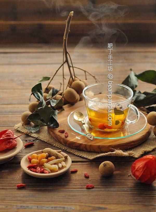 桂圓枸杞子西洋蔘茶【秋夜好眠】Longan Ginseng Tea with Goji Berry