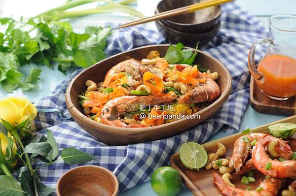 泰式鮮蝦甜辣炒蔬菜【蔬菜代粉絲】Prawn & Pork Pad Thai