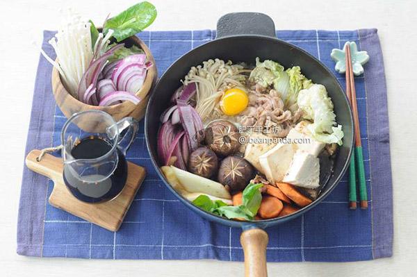 壽喜燒【日式火鍋】一鍋攪定 Sukiyaki