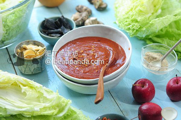 自製泡菜醬 全植物/素食可 Homemade Vegan Kimchi Sauce
