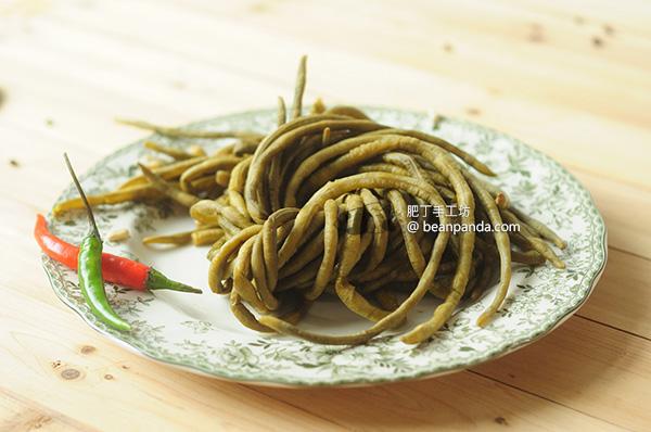 自製酸豇豆 酸豆角 天然發酵 夏日去濕開胃菜 Lacto Fermented Green Bean Recipe