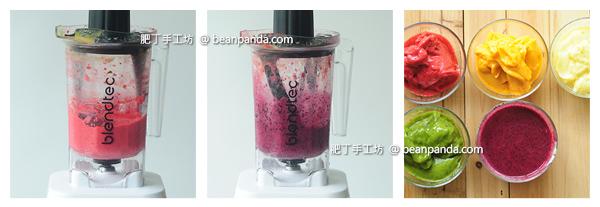 彩虹果汁冰淎 現打新鮮漸層水果冰棒 Rainbow Popsicles Recipe