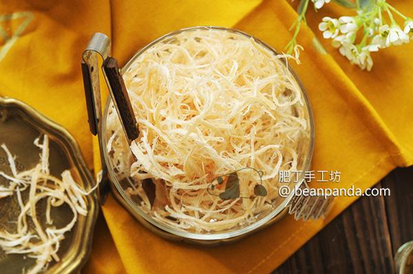 自製魷魚絲 ~ 零食也可以健康吃 Homemade Dried Shredded Squid Recipe