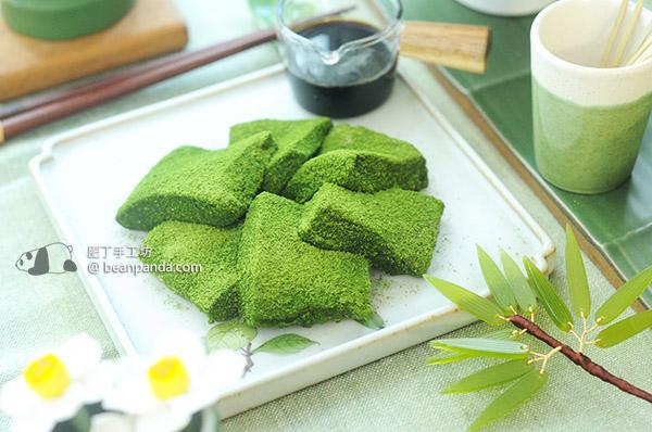 抹茶蕨餅 簡單步驟製作冰涼日式和菓子 Matcha Warabi Mochi